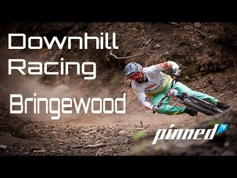 Bringewood Down Hill  Pinned TV Downhill Racing Stu Hits The Trails In Shropshire