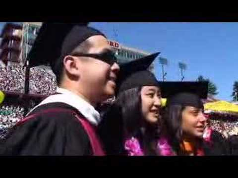 Class of 2007 does the Wacky Walk - Stanford Report