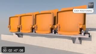 Installation VIA Stadium Seating