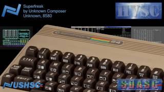 Superfreak - Unknown Composer - (Unknown) - C64 chiptune