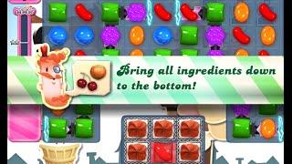Candy Crush Saga Level 708 walkthrough (no boosters)