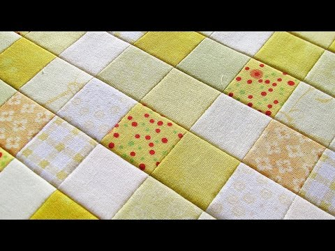 Sew Small Squares Of Fabric Easily - DIY Crafts - Guidecentral