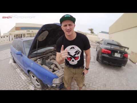 Abandoned Audi RS2 Avant in Dubai - Wüstenleiche - SimonMotorSport - Folge 172
