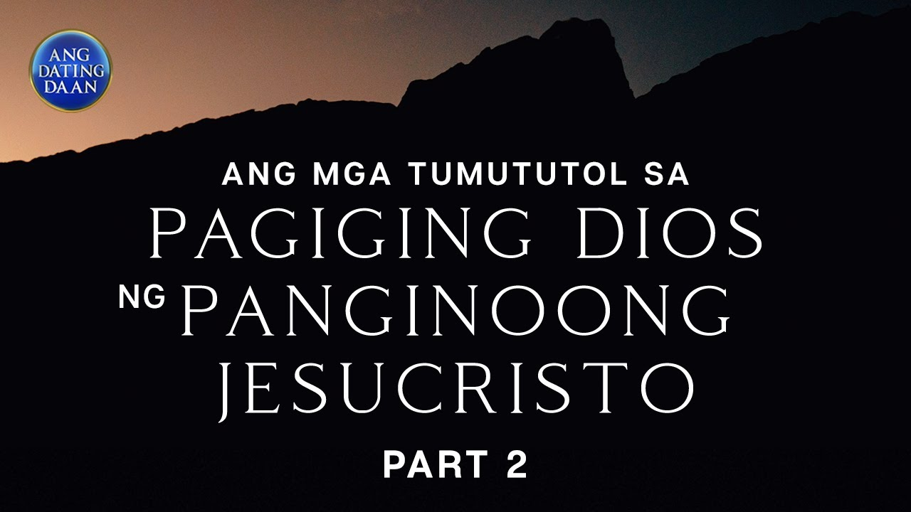 Ang dating daan 2015 debate video 2