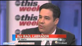 Rep Raul Labrador: Democrats are like Bank Robbers