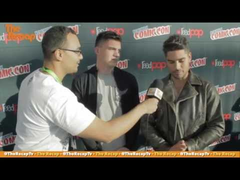 NYCC 2015 | D J  Cotrona and Zane Holtz   Dusk Till Dawn Interview Snippet