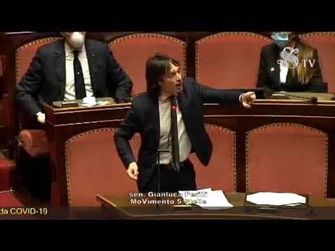 Coronavirus, Gianluca Perilli (M5S) - Intervento Aula Senato - 26/3/2020