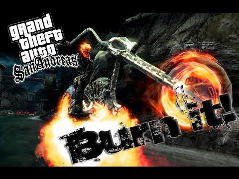 GTA San Reas Cheat Ghost Rider