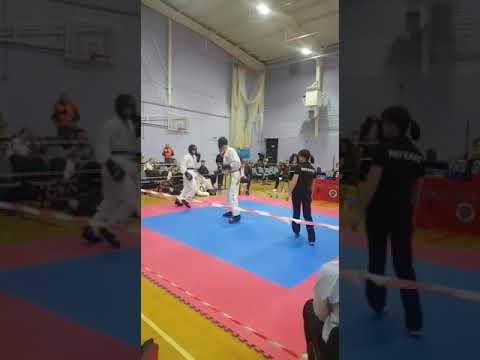Mike Carroll Mr head kick showing how to win gold tkd