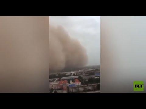 الصين أسيرة عاصفة رملية من جديد  - نشر قبل 2 ساعة