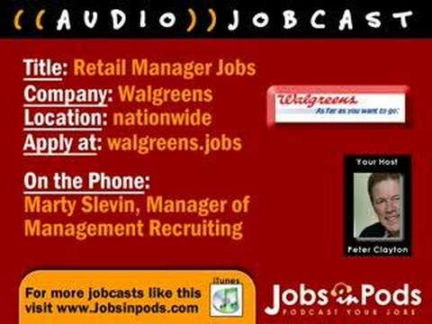 All About Store Manager Jobs With Walgreens Youtube