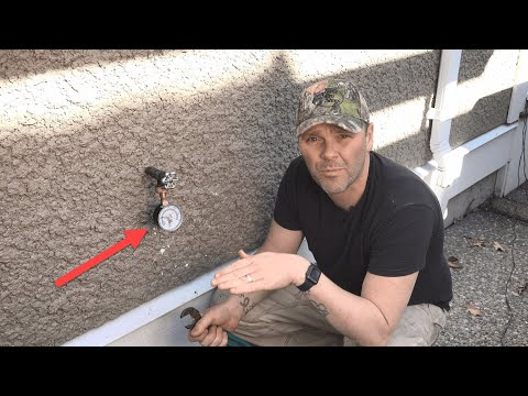 How to Check Your Home Water Pressure. Test and Do It Yourself DIY.
