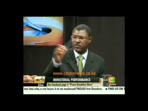 Cheche: Moses Wetangula Part 3