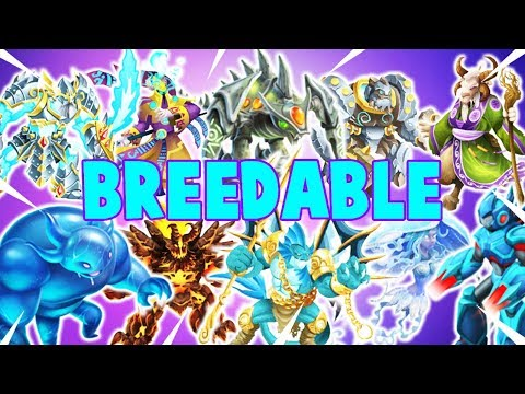 How To Breed All Breedable Legendary Monsters In Monster Legends 2019 Guide (Updated)