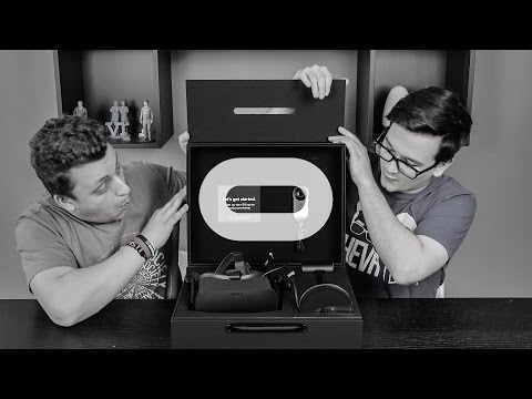 Mi van a dobozban?   Oculus Rift #1: Unboxing
