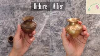 How to clean copper and brass utensils at home using 4 different methods