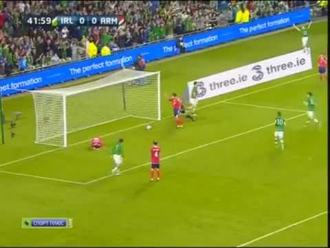 Ireland-Armenia 2-1all Goals   Ирландия  Армения 2-1 Все голы