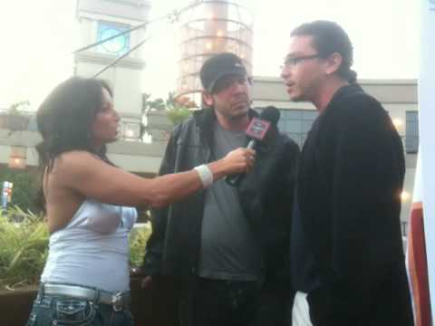 Brian Ronalds and Dean Ronalds at Alex Ranarivelo's KNUCKLE DRAGGERS Red Carpet LA Premiere