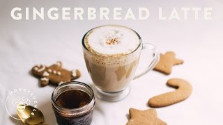 Gingerbread Latte - COFFEE BREAK SERIES - HoneysuckleCatering