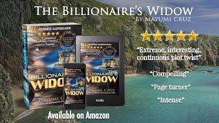The Billionaire's Widow book trailer
