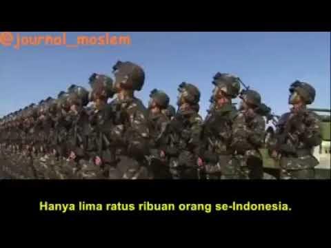 7 Juta dari 10 Juta Target Tentara China Telah Masuk ke Indonesia