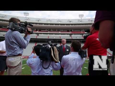 Nebraska's Memorial Stadium Expansion Media Tour