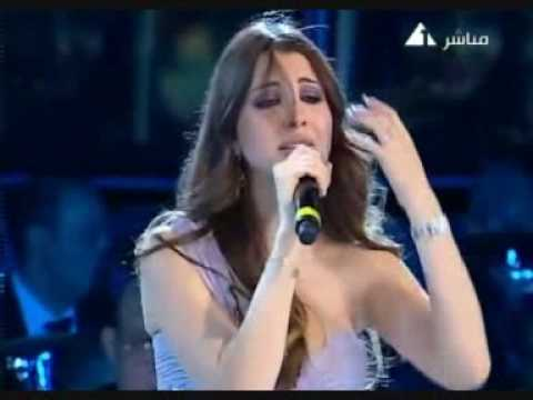 Nancy Ajram Northern Coast Concert 2009 Wana ben ediek