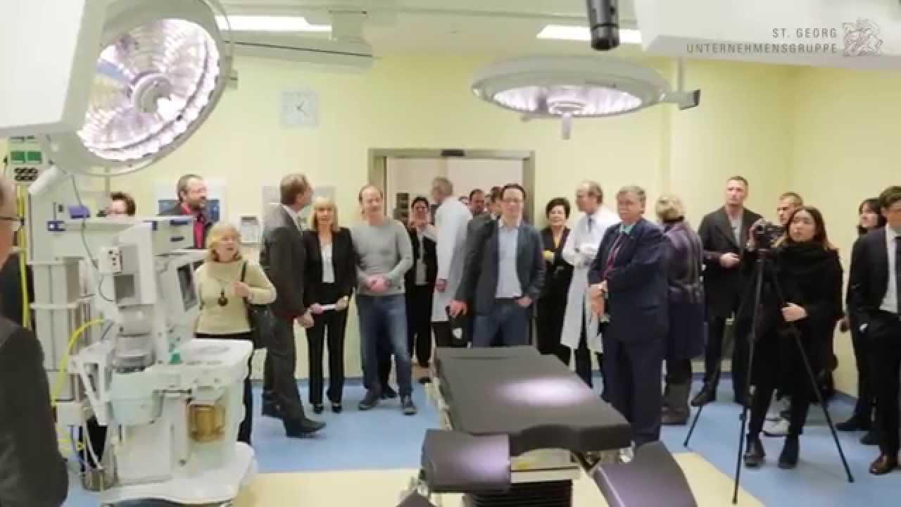 Op Eröffnung Mit Oberbürgermeister Burkhard Jung St Georg Tv