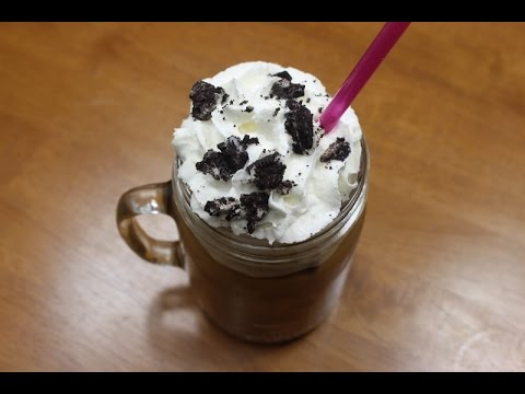 Easiest Homemade Mocha Frappuccino Recipe Ever!!