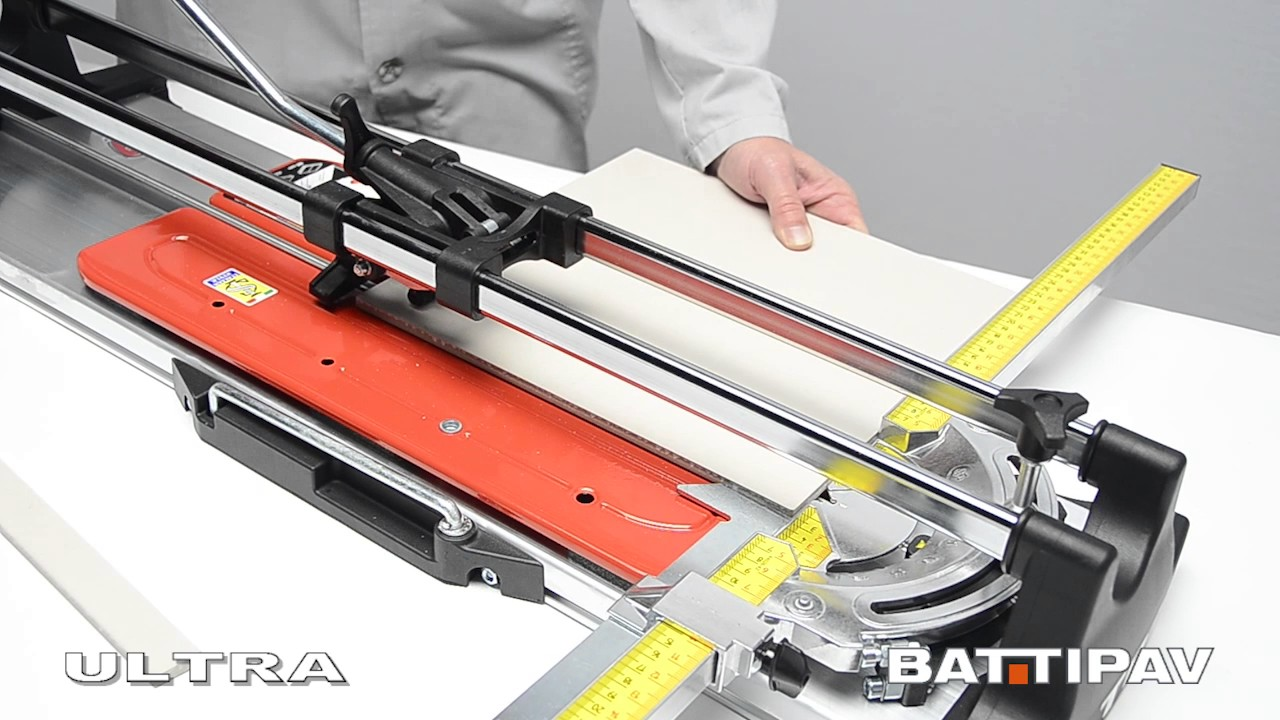 Ultra 60 Manual Tile Cutter Youtube