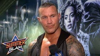 """Randy Orton will deal with Jeff Hardy """"on my own terms"""": SummerSlam Exclusive, Aug. 19, 2018"""