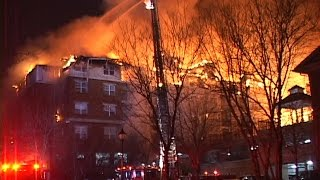 Edgewater,nj Fire Department Multiple Alarm