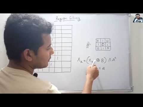 Region Filling with Example in Hindi | Digital Image Processing