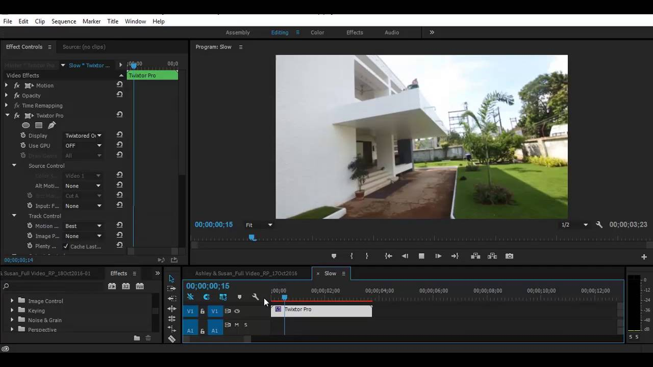 twixtor pro tutorial