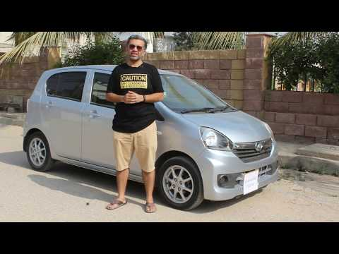 Official Review –  ECarPak –  Daihatsu Mira E:S – One Of Most Fuel Efficent Hatchback