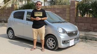 Official Review -  ECarPak -  Daihatsu Mira E:S - One Of Most Fuel Efficent Hatchback