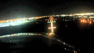 Mooney night approach into Jeddah OEJN Saudi Arabia - Africa 2011