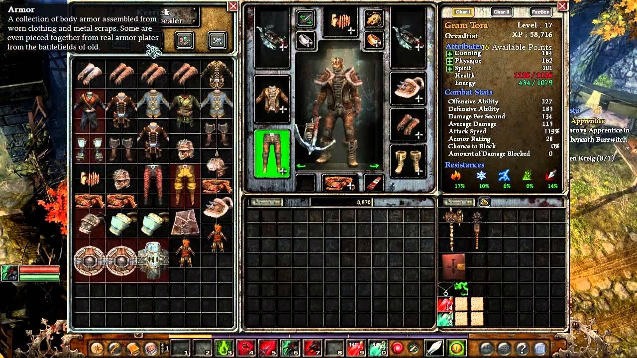 Grim Dawn Alpha Male Occultist Gameplay #12 END