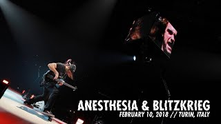 Metallica: (Anesthesia) - Pulling Teeth & Blitzkrieg (Turin, Italy - February 10, 2018) YouTube Videos