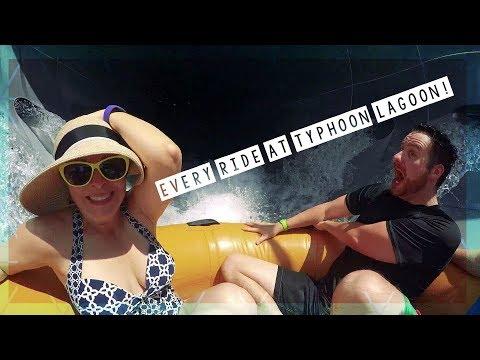 We Do Every Ride At Typhoon Lagoon Water Park! | Walt Disney World Vlog August 2018 HD