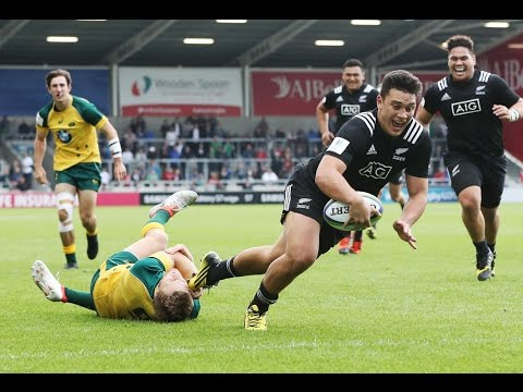 New Zealand power past Australia - U20 Highlights