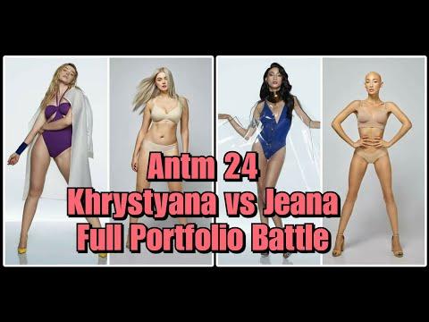 ANTM 24: Khrystyana vs. Jeana Full Portfolio Battle