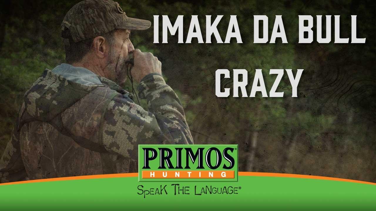 Imaka Da BullCrazy # 941 Long Range Elk Hunting Call Details about  /Primos Hunting Calls