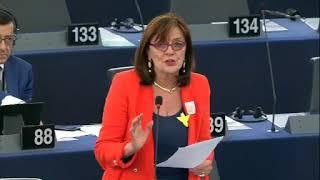Intervento in aula di Patrizia Toia sull'Istituzione di Orizzonte Europa - definizione delle norme di partecipazione e diffusione - Programma di attuazione di Orizzonte Europa