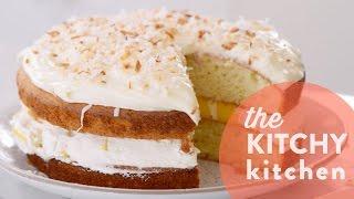 Tina's Buttermilk Mango Cake // Living Deliciously