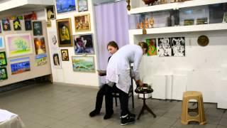 Пробы в сериал. Светлана Стоялова и Валерия Марченко