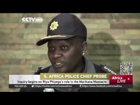 Inquiry on South Africa police chief role massacre begins