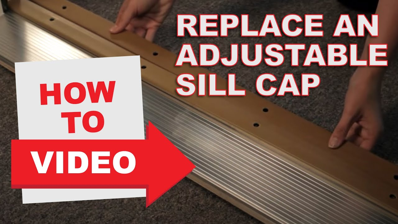 How To Replace A Sill Cap Youtube