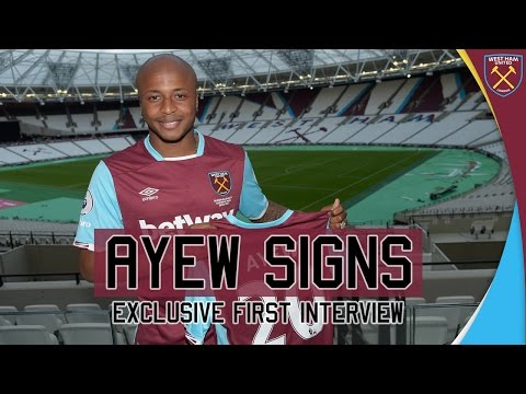ALL ACCESS: ANDRE AYEW SIGNS ⚒
