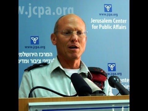 Judea And Samaria: Challenges And Opportunities By Maj.-Gen. Nitzan Alon